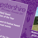 Worcestershire Welcome Awards leaflet