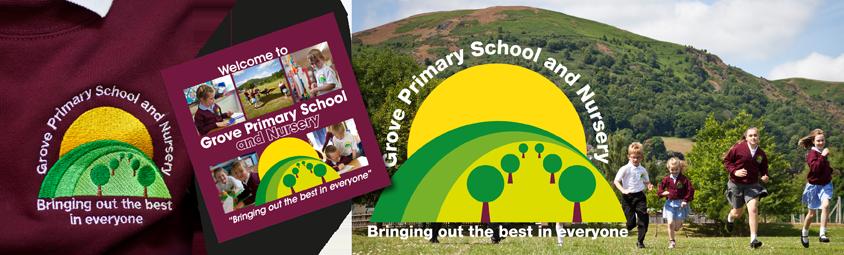 Grove School branding